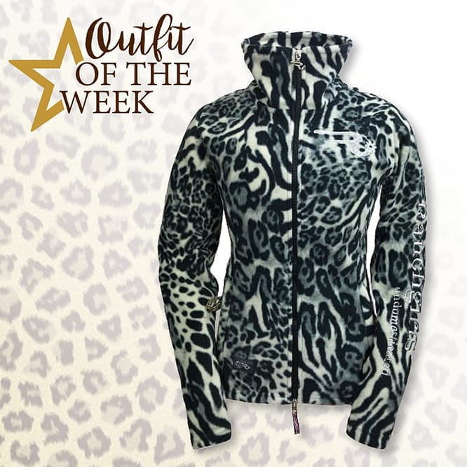 Ranchgirl Polarleece Jacket Grace Snow Leopard