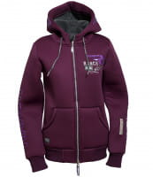 OSWSA Ranchgirl Hooded Thermojacket SCARLETT blackberry