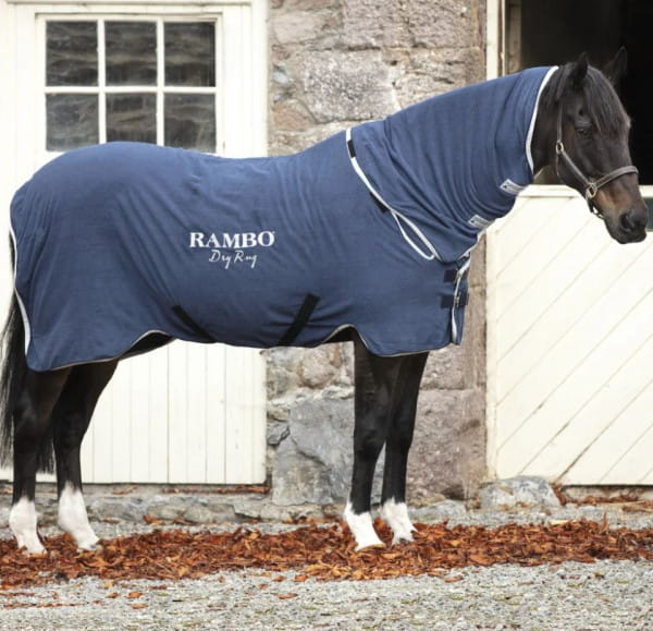 Horseware Rambo Dry Rug navy
